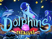 Аппарат Dolphins Treasure от компании Playson – коротая досуг, увеличивайте банковский счет